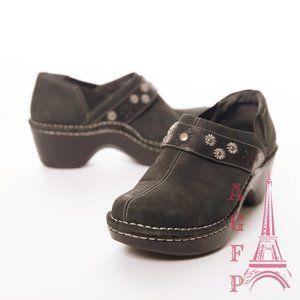 Ariat Westlake black slip on black clogs shoes